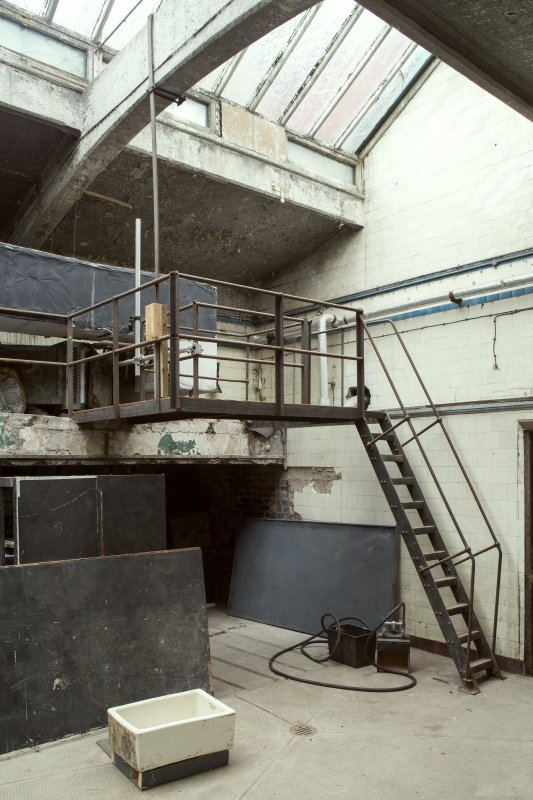Ground floor. Washhouse. View from north east.