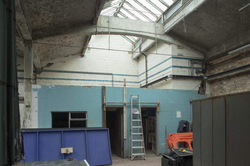 Ground floor. Washhouse. View from south east.