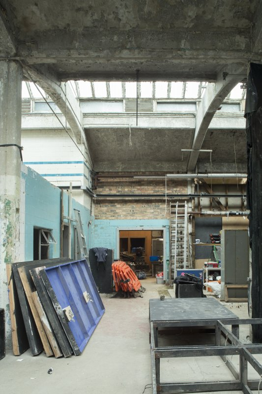 Ground floor. Washhouse. View from south.