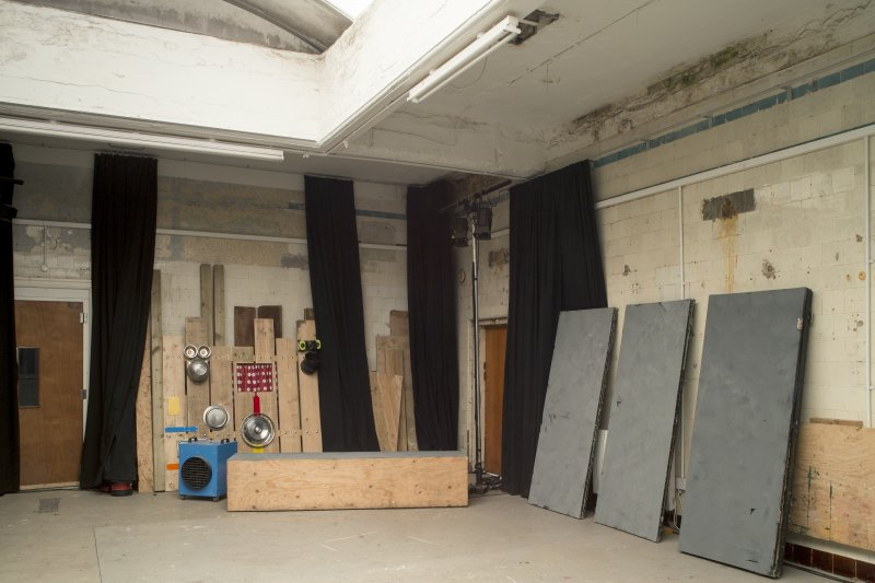 Ground floor. Changing rooms. View from south west.