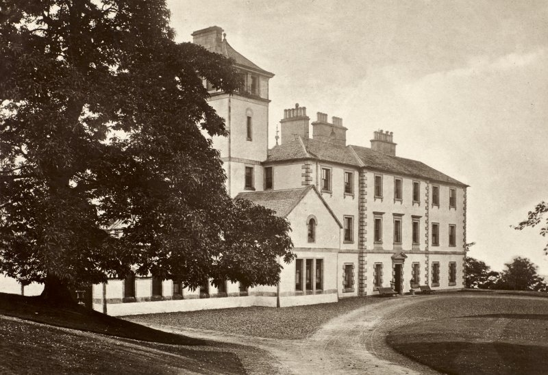 View of Finlaystone House.