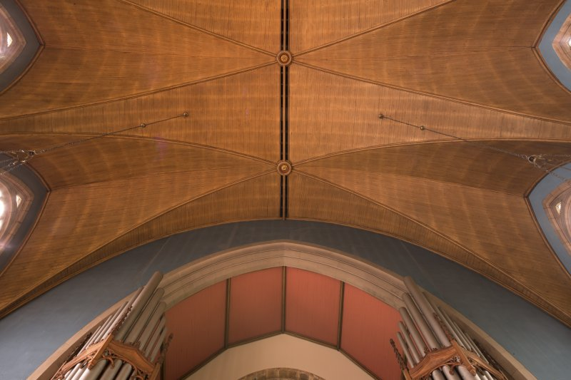 View of ceiling above balcony