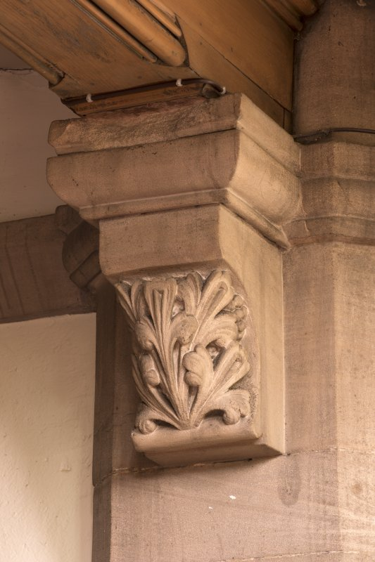Detail of stone corbel