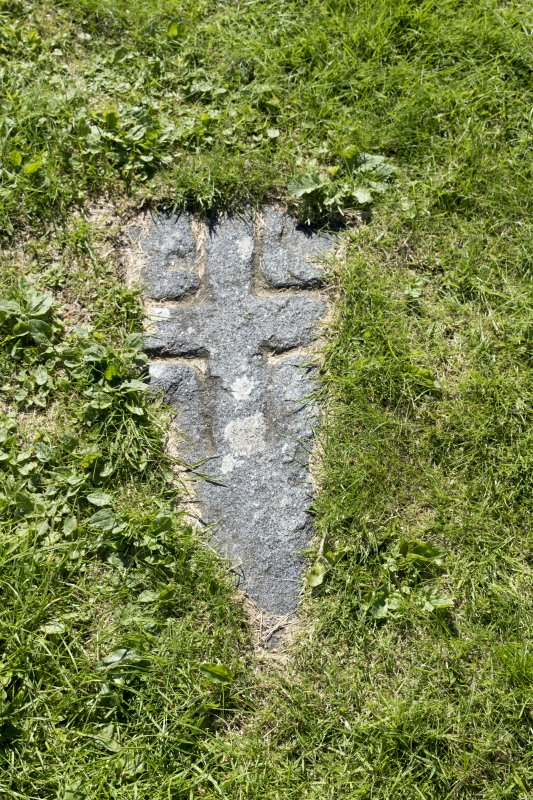 Detail of the Early Medieval cross slab