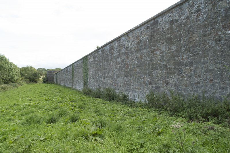 View of east wall from north.