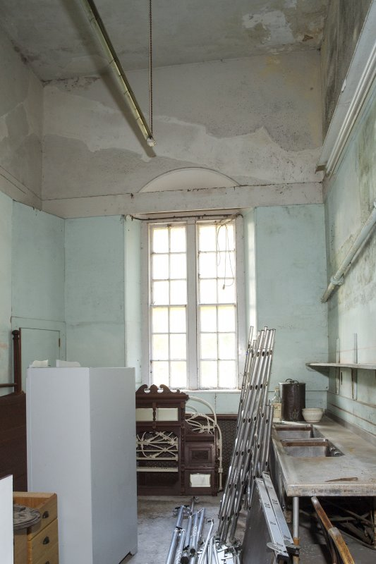 Ground floor. Scullery. General view from east.