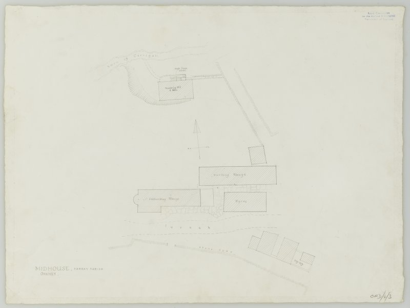 Survey drawing; site plan