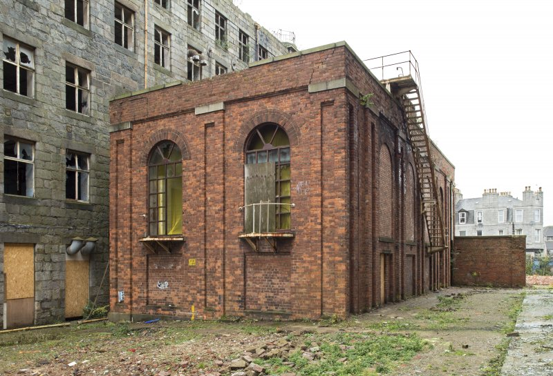 View of south gable of former Engine House adjacent to the North Mill (c.1860)
