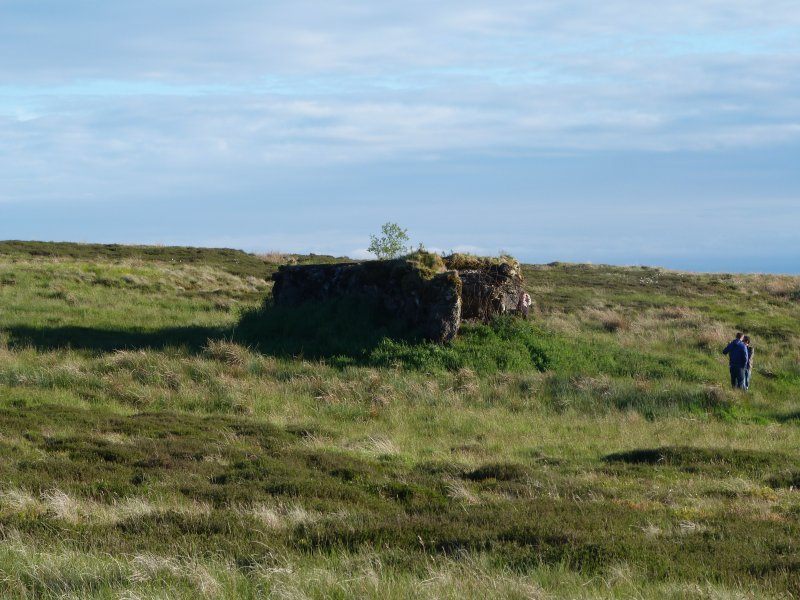 Visitors viewing a bunker near the Atlantic Wall, Sheriff Muir