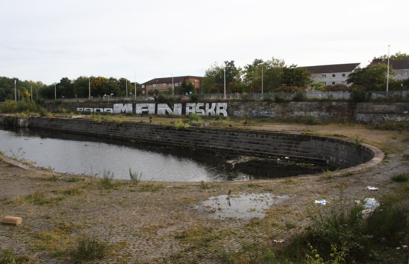 View of graving dock No.3 from NNW