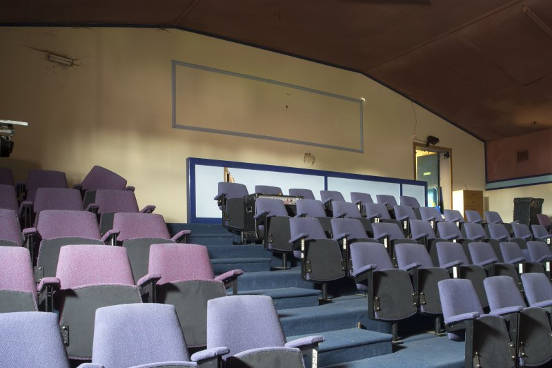 Balcony. View of original seating.