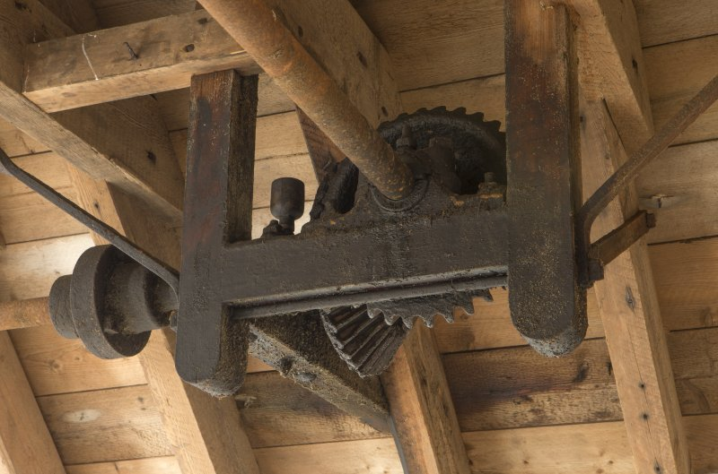 Second floor. Detail of mechanism.