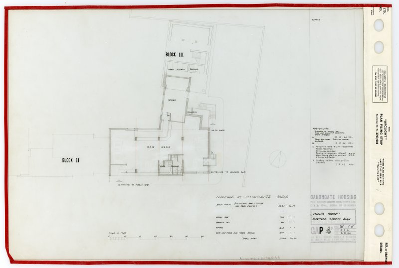 Public House: Revised sketch plan