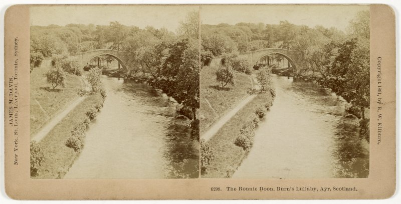 General view from NW of Brig o' Doon