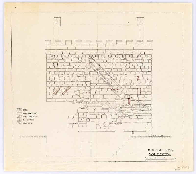 Drawing showing East elevation.