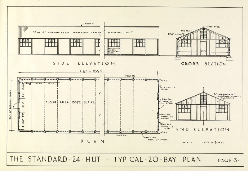 The Standard 24 Hut: Description and method of erection booklet. Page 3