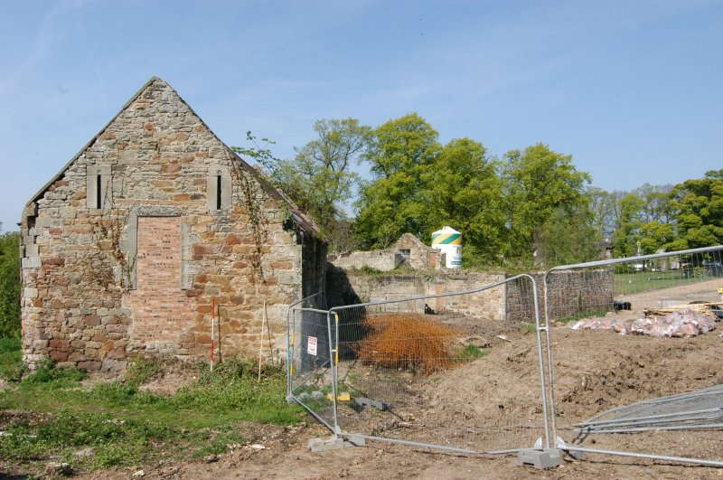 Building 2 & 3, gable walls, distance shot