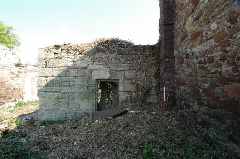 Building 2, north-west-facing elevation, doorway
