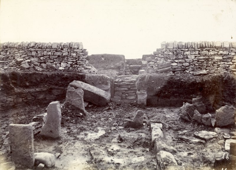 Photograph of entrance to White Gate Broch.