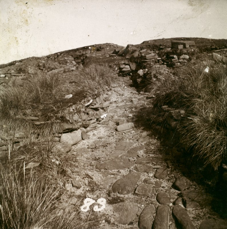 Photograph of Keiss Wester Broch slip.