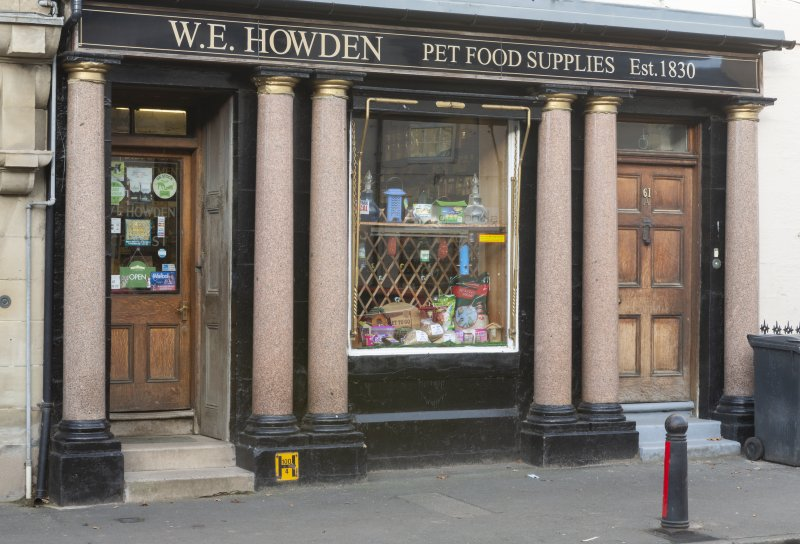 Coldstream, 81 High Street, view of frontage.