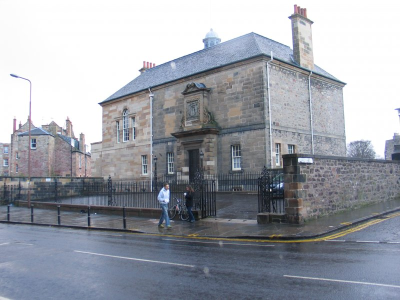 Historic building recording, Structure A, Exterior Archers' Hall from SW, Archers Hall, 66 Buccleuch Street