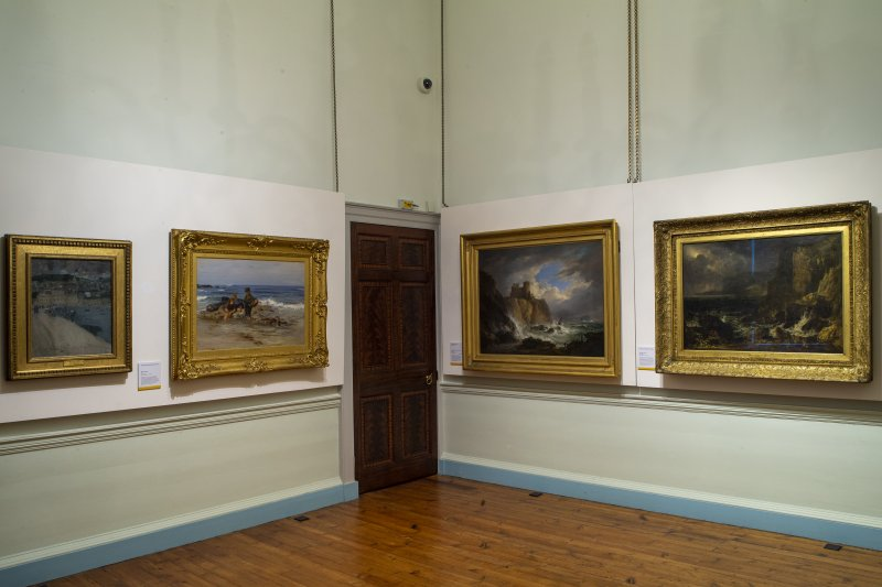 Romantic Scotland Exhibition at Duff House.