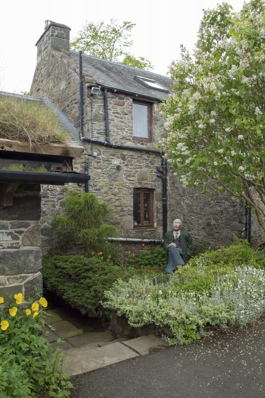 View of garden at The Steading, Nether Blainslie.