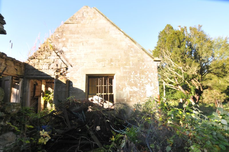 Standing building recording, External E-facing gable wall, Allanbank, Duns, Scottish Borders