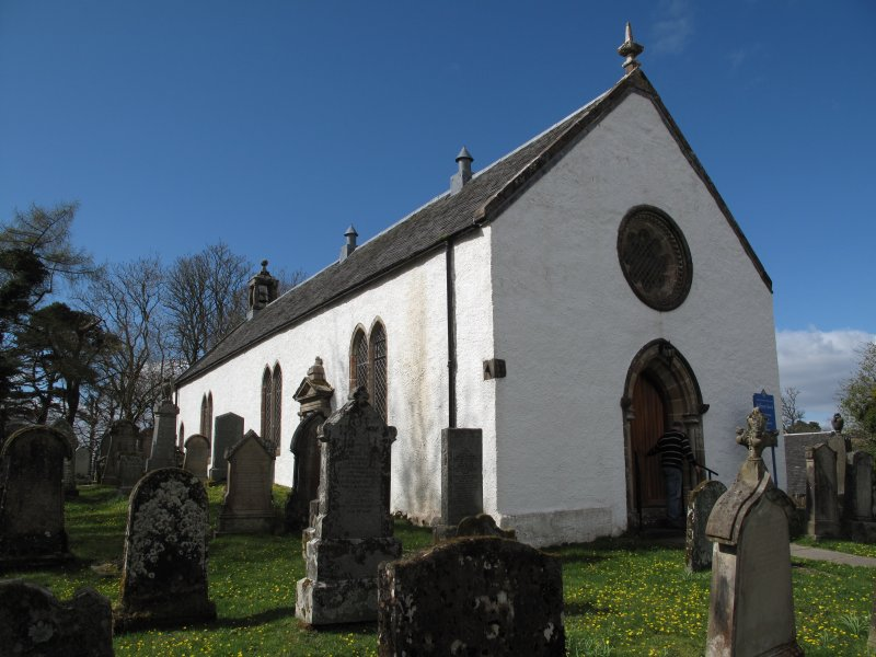 General view of Kilfinan Church
