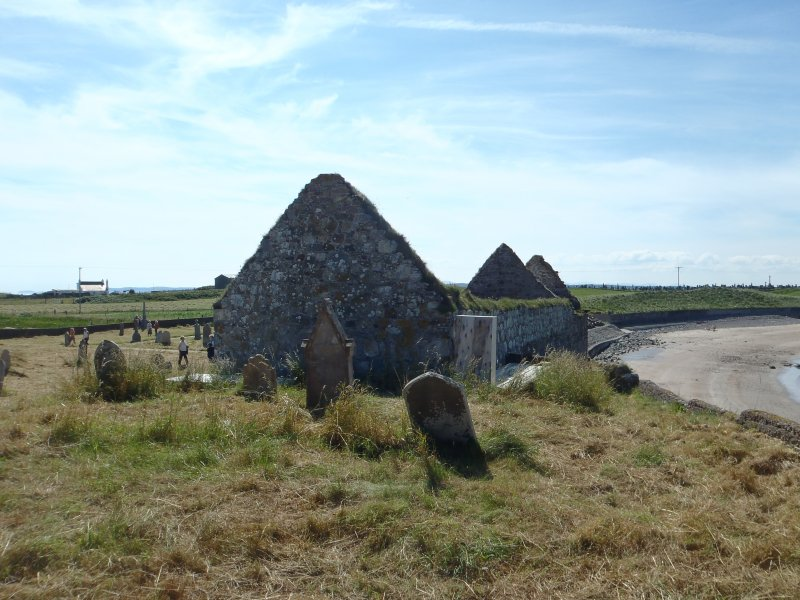 Archaeological works, General site shot, St Columba's Chapel, Aiginis, Isle of Lewis