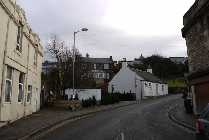 View from north-west showing No 19 Church Wynd, Bo'ness.