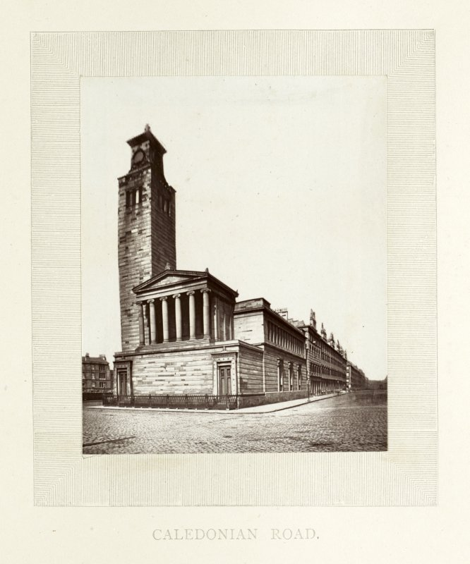 Photograph of Caledonia Road United Presbyterian Church, Glasgow.