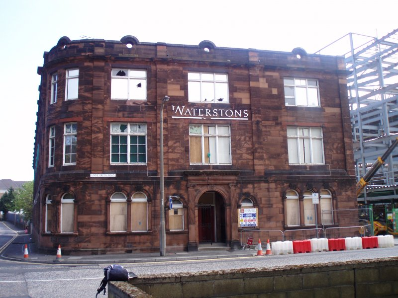 Historic building recording, Exterior view, Waterston's Logie Green Printing Works, Edinburgh