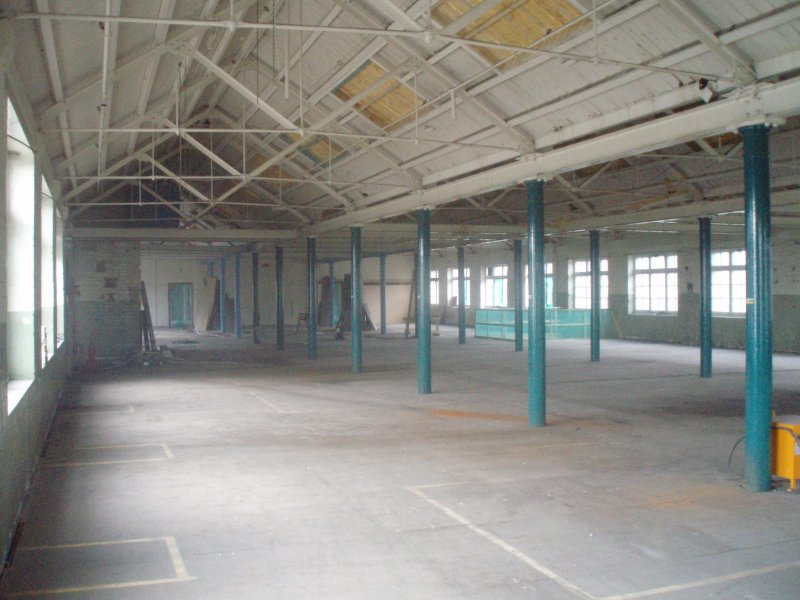 Historic building recording, General interior view, Waterston's Logie Green Printing Works, Edinburgh
