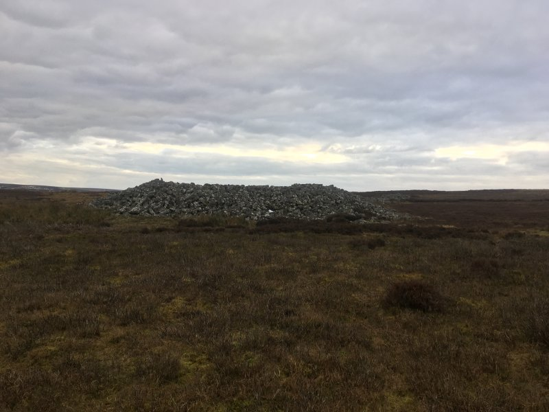 Long cairn, Mutiny Stones