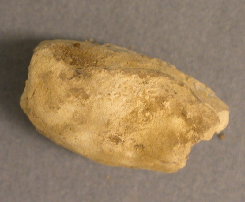 Post excavation, Lead bead [SF19.1], Carghidown Castle