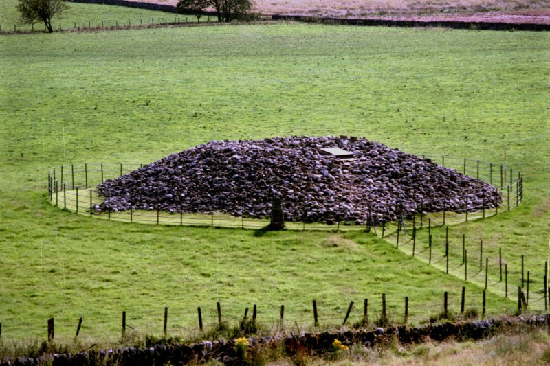 View of cairn from the north-west.