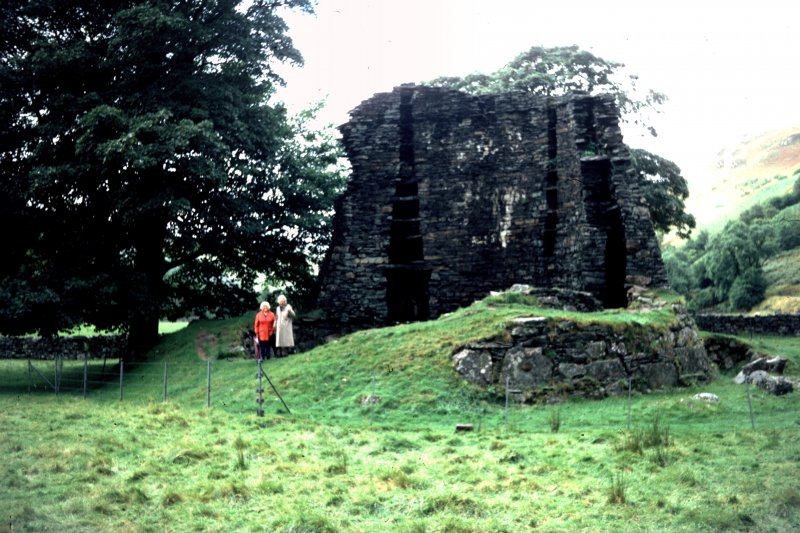 General view of broch voids.