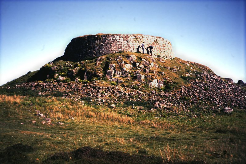 General view of broch.
