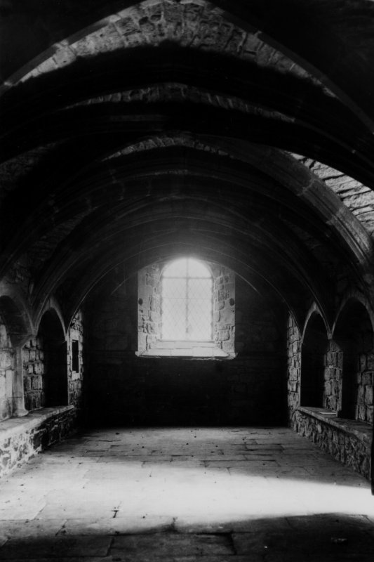 View of Chapter House undercroft