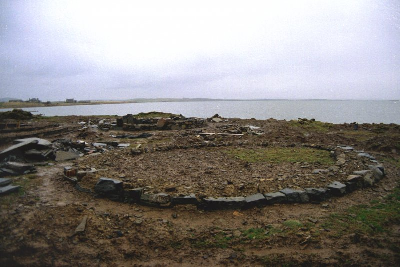 Site during consolidation
