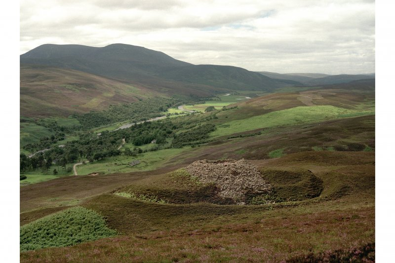 View looking from higher ground onto the Kilphedir broch.