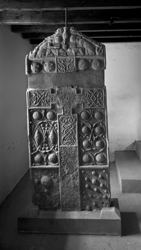 Nigg Pictish cross-slab symbol stone.