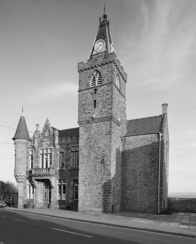 View of Maybole Town Hall from north west