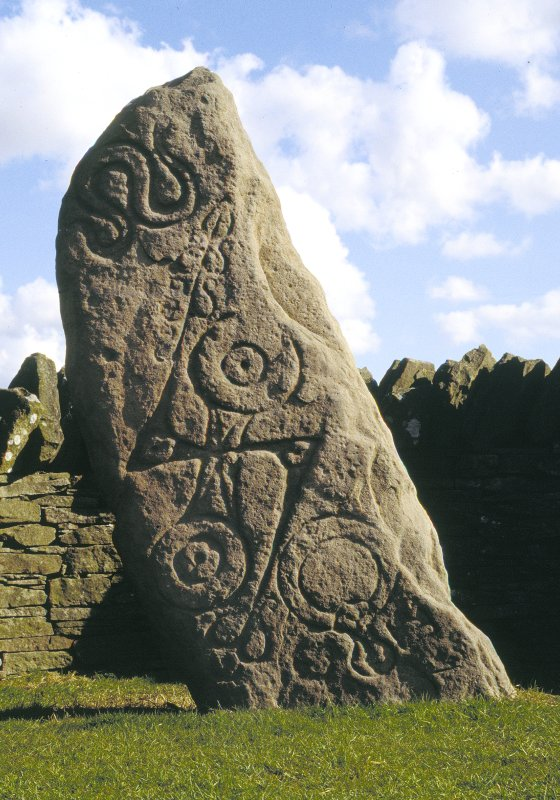 Aberlemno no 1 Pictish symbol stone