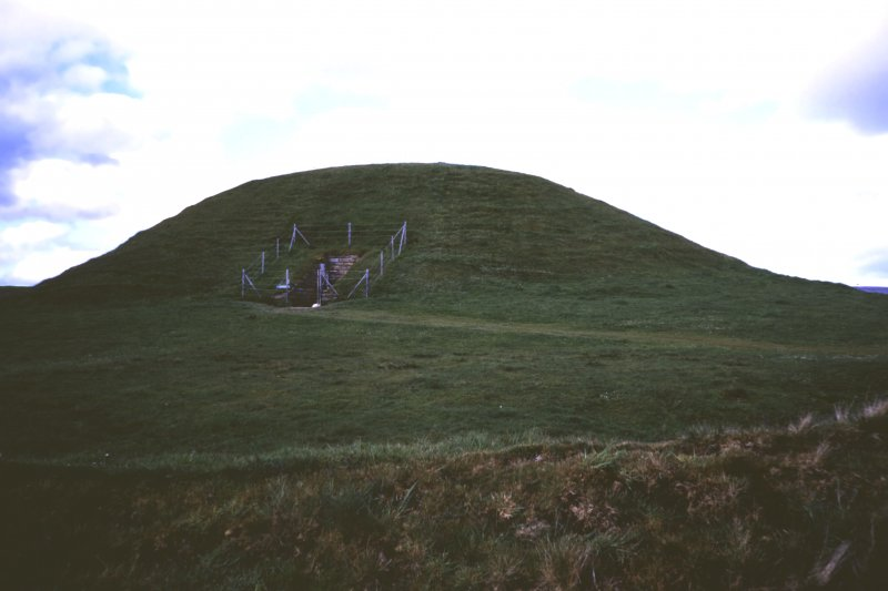 View of cairn from south west.