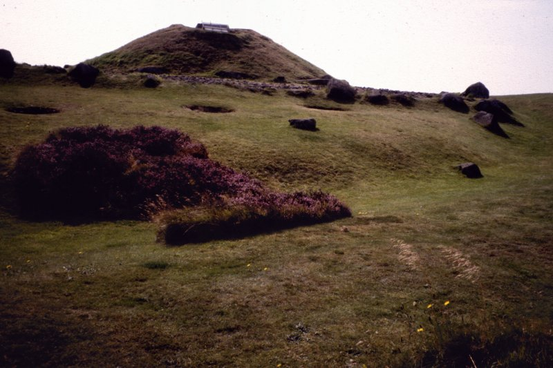 Cairnpapple Hill:general view.