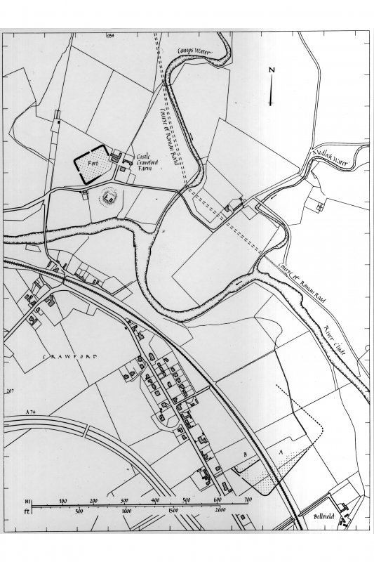 Location Plan Lanarkshire Inventory fig. 79