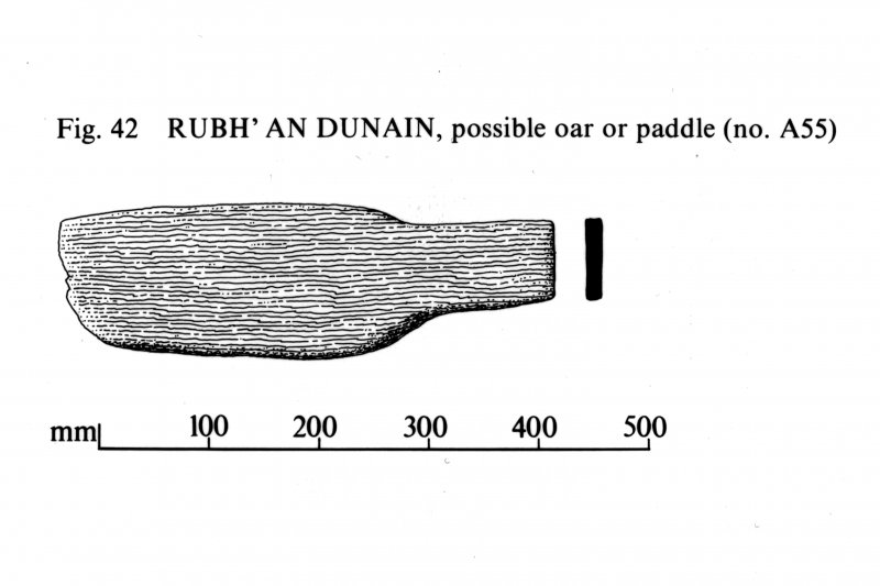Rubh' An Dunain, possible paddle or oar